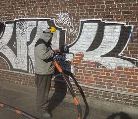 nettoyage graffitis nord
