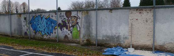 nettoyage graffitis tags nord